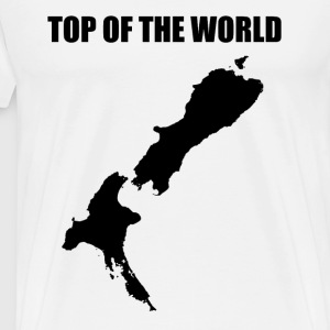 Top of the World (black) T-Shirts - Men's Premium T-Shirt