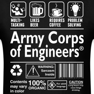 Army Corps Of Engineering Multi Tasking - Men's T-Shirt