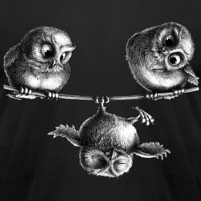 three owls - freedom & fun