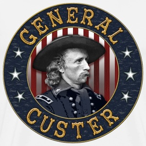 General Custer Roundel - Men's Premium T-Shirt