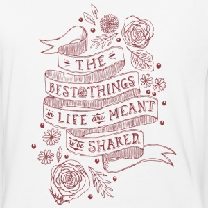 The Best Things In Life - Baseball T-Shirt