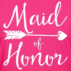 Sugar Maid Of Honour  Women's T-Shirts