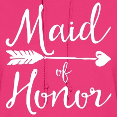 Sugar Maid Of Honour  Hoodies