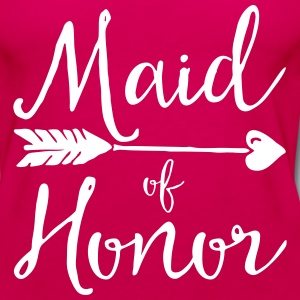 Sugar Maid Of Honour  Tanks - Women's Premium Tank Top