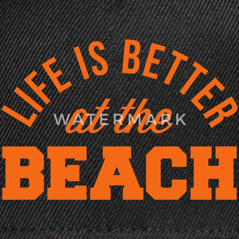 Life Is Better Beach Caps - Snap-back Baseball Cap