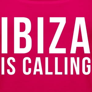 Ibiza Is Calling 2 Tanks - Women's Premium Tank Top