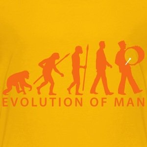 evolution marching band timpani player 112015 Kids' Shirts - Kids' Premium T-Shirt