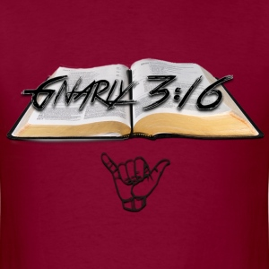 Young Gnarly Bible - Men's T-Shirt