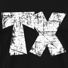 TX Texas T-Shirt (Men/Black)
