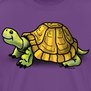 Turtle Cartoon Art - Men's Premium T-Shirt
