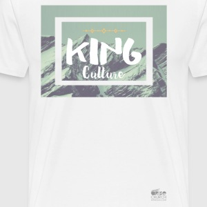 King Culture Mountain Men - Men's Premium T-Shirt