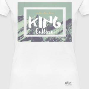 King Culture Mountain Women - Women's Premium T-Shirt