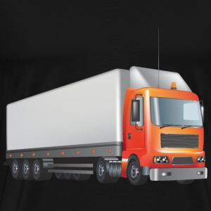 transport truck wagon transportation cars - Men's Premium T-Shirt