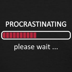 Procrastinating Please Wait Loading Bar Women's T-Shirts - Women's T-Shirt