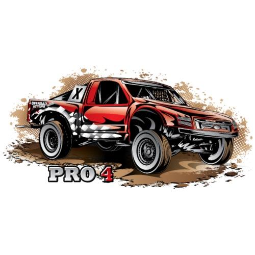 Pro4 Race Truck Red