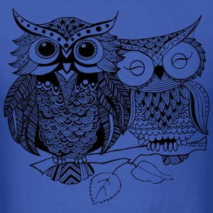 Love Owls South Seas T-Shirts - Men's T-Shirt