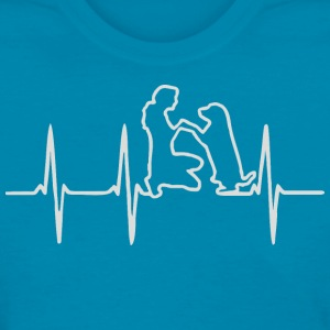 Heartbeat Dog Rescuer - Women's T-Shirt