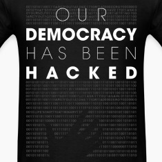 Mr Robot fsociety hacked democracy quotes T-Shirts