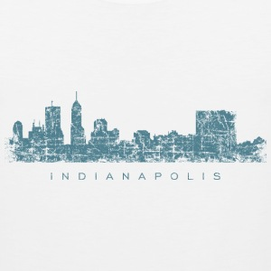 Indianapolis Skyline Tank Top (Men) - Men's Premium Tank
