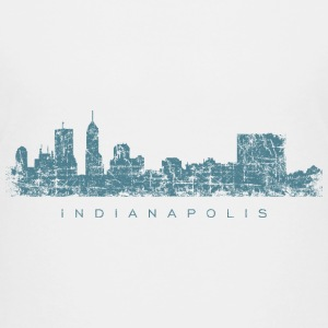 Indianapolis Skyline T-Shirt (Children/White) - Kids' Premium T-Shirt