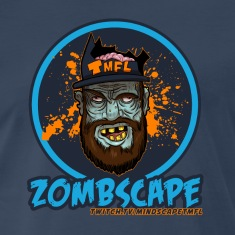 "(LARGER SIZES)Zombscape ""Special Edition Men's Tee"