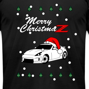 Merry ChristmasZ - Men's T-Shirt by American Apparel