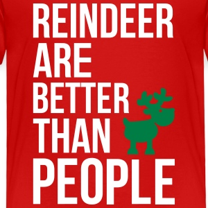 Reindeer are better than people_2c.ai Baby & Toddler Shirts - Toddler Premium T-Shirt