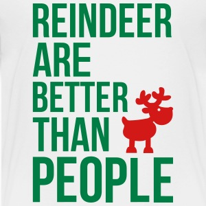 Reindeer are better than people_2c.ai T-shirts Enfant - T-shirt premium pour ados