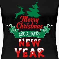 Merry-Christmas-and-a-Happy-new-Year_3c.ai Women's T-Shirts