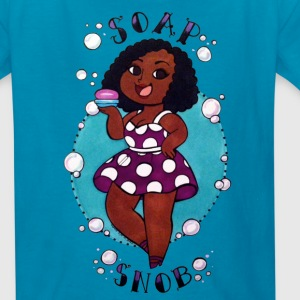 Kids Soap Snob shirt - Kids' T-Shirt