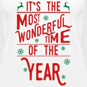 It-s-the-most-wonderful-time-of-the-year_2c.ai Tanks - Women's Premium Tank Top