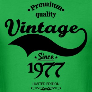 Premium Quality Vintage Since 1977 Limited Edition T-Shirts - Men's T-Shirt