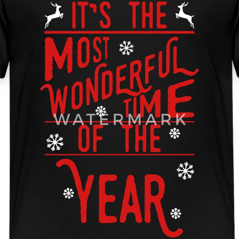 It-s-the-most-wonderful-time-of-the-year_2c.ai Kids' Shirts - Kids' Premium T-Shirt