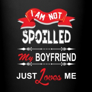 I Am Not Spoiled My Boyfriend Just Loves Me Mugs & Drinkware - Full Color Mug
