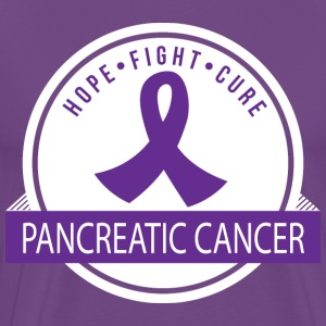 Pancreatic Cancer Hope Fight Cure T-Shirts - Men's Premium T-Shirt