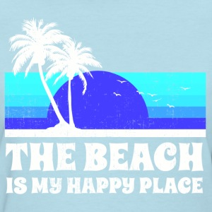 The Beach Happy Place Women's T-Shirts - Women's T-Shirt