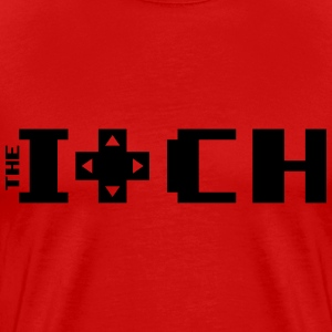 The Itch Red with Black - Men's Premium T-Shirt