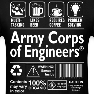 Army Corps Of Engineering - Men's T-Shirt