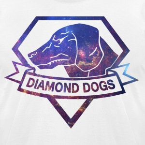Diamond Universe T-Shirts - Men's T-Shirt by American Apparel