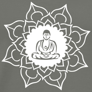 Buddha Lotus Meditation T-Shirts - Men's Premium T-Shirt