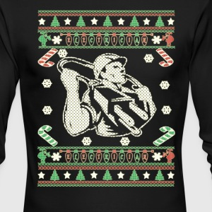Electrician - Merry Christmas - Men's Long Sleeve T-Shirt by Next Level