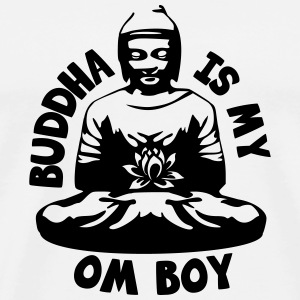 Buddha is my Om Boy T-Shirts - Men's Premium T-Shirt