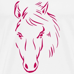 Horse Drawing T-Shirts - Men's Premium T-Shirt