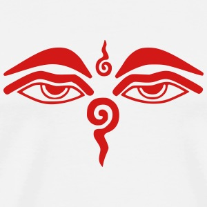 Eyes of Buddha T-Shirts - Men's Premium T-Shirt
