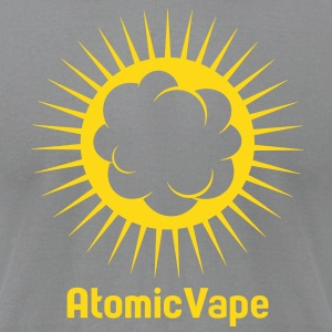 VAPE T-SHIRT ATOMIC VAPE T-Shirts - Men's T-Shirt by American Apparel