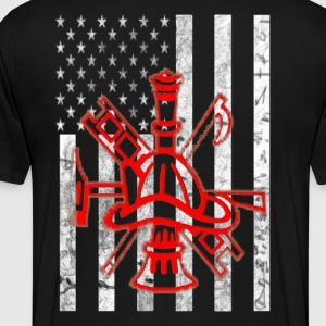 American Firefighter - Men's Premium T-Shirt