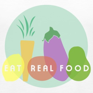 Eat Real Food Tanks - Women's Premium Tank Top
