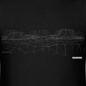 Canyon (Black) - Men's T Shirt - Men's T-Shirt