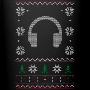 Winter DJ Headphones Xmas Mugs & Drinkware - Full Color Mug