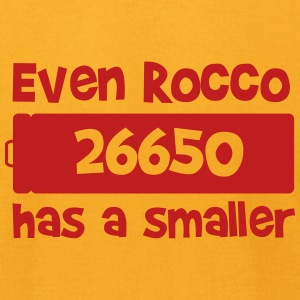EVEN ROCCO HAS A SMALLER T-Shirts - Men's T-Shirt by American Apparel
